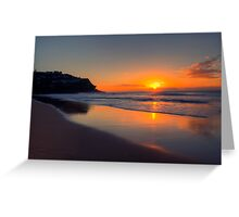 Good Morning Sunshine - Whale Beach, Sydney Australia  -  The HDR Experience Greeting Card