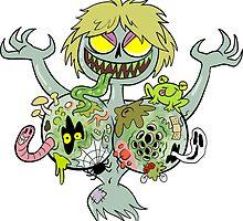 Gross Boobs Ghost by bogleech