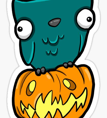 Creepies - Owl Sticker