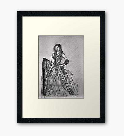 I'm A Model Framed Print