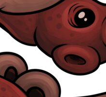 Blood Flukes Sticker