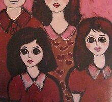 Me and my girls by carypdavies