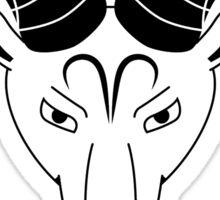 Aries Ram Sticker