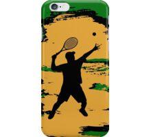 Male Tennis Player iPod / iPhone 5 Case / iPhone 4 Case  iPhone Case/Skin