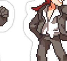 rude and reno Sticker