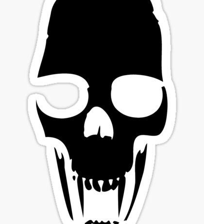 Vampire Skull Sticker