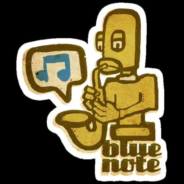 blue note remixed by Ben Lucas