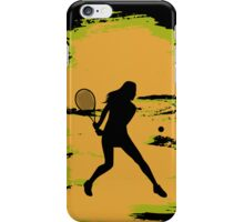 Female Tennis Player iPod / iPhone 5 Case / iPhone 4 Case  / Samsung Galaxy Cases  iPhone Case/Skin