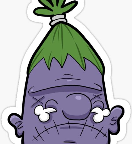Creepies - Shrunken Head 5 Sticker