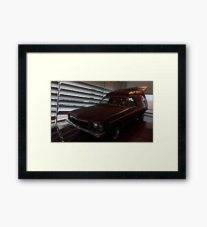 Holden HZ Panel Van Framed Print