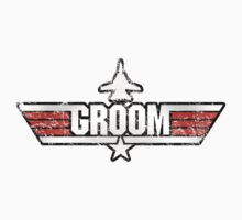 Top Gun Style Bachelor / Stag Party Shirt (Groom) T-Shirt