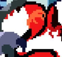 Pixel Yveltal Sticker