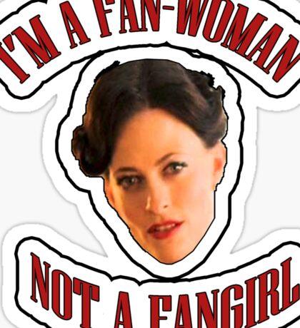 THE (FAN)WOMAN Sticker