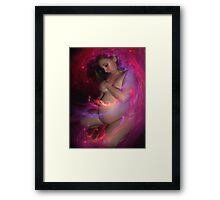 WONDER'S AWAIT, MY DARLING Framed Print