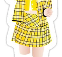 Cher (Clueless) Sticker