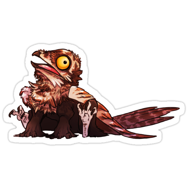 Potoo Griffin #2 by PencilCat