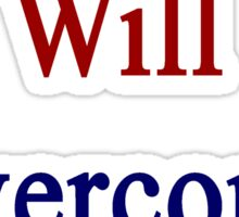 This Cuban Will Overcome Cancer  Sticker