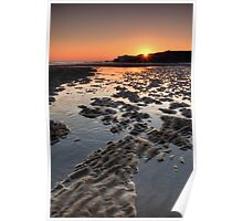 Sunrise At Trow Rocks Poster