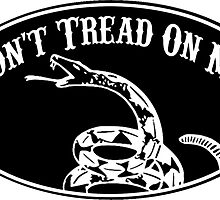 Don't Tread On Me by robotface