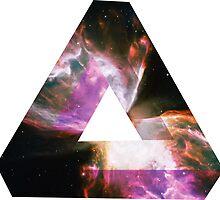 Impossible Triangle Butterfly Nebula   Fresh Universe by SirDouglasFresh