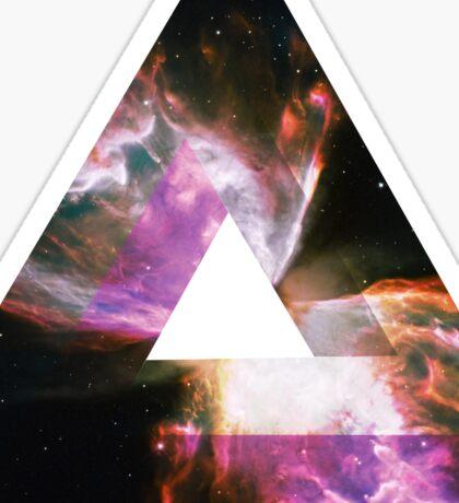 Impossible Triangle Butterfly Nebula | Fresh Universe Sticker