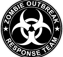 Zombie Outbreak Response Team Logo by 8675309