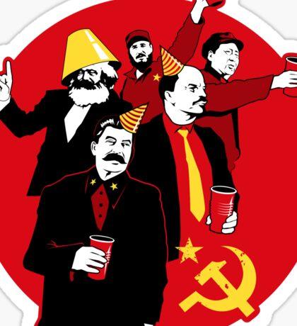 The Communist Party Sticker Sticker