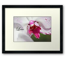 Motivate, Motivational Love Framed Print