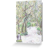 A Path Less Travelled Greeting Card