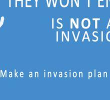Alien Invasion PSA 02 Sticker
