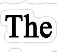 God Save The Clarinetists  Sticker