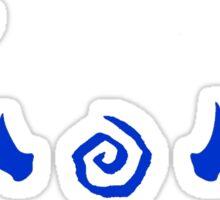 True Detective - Antlers - Blue Sticker