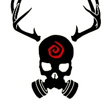 True Detective - Gas Mask - Black by Prophecyrob