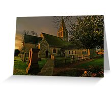 St Andrew's Wraysbury Greeting Card