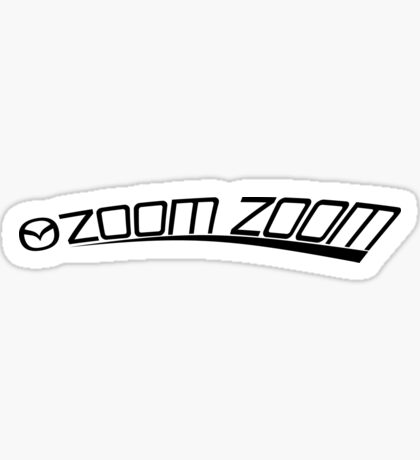 Mazda Zoom Zoom Sticker JDM Sticker