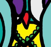 Hide and Go Seek Owl Sticker