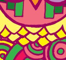Tribal Owl Sticker