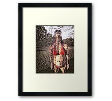 the coming Framed Print