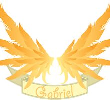 Archangel Gabriel by KOTMZain