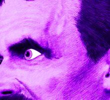 Nietzsche Burst 3 - by Rev. Shakes Sticker