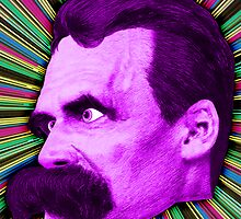 Nietzsche Burst 2 - by Rev. Shakes by Rev. Shakes Spear