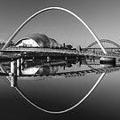Millennium Bridge by Great North Views