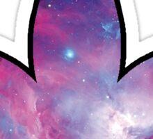 Nebula Indica Leaf Sticker