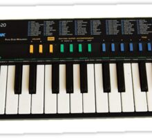 Casio SA-20 Sticker