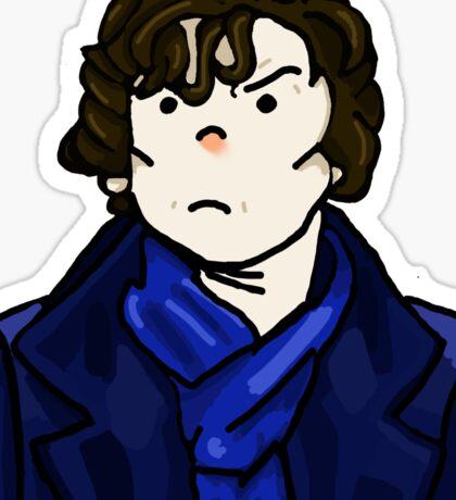 Sherlock Holmes In Action Sticker