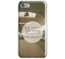 Last Night I Heard Everything in Slow Motion iPhone Case/Skin
