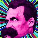 Nietzsche Burst 8 - by Rev. Shakes by Rev. Shakes Spear