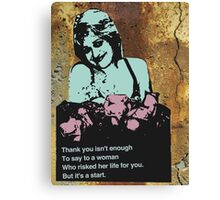 Spoils of War: Ode to a Refusenik Mother 1 Canvas Print