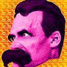 Nietzsche Multi-Heads 1 - by Rev. Shakes  by Rev. Shakes Spear