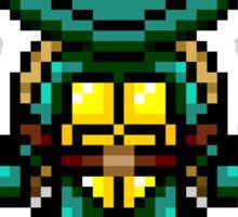 TMNT Michelangelo Pixel Sticker